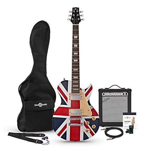 Guitarra Eléctrica New Jersey + Pack Completo - Union Jack