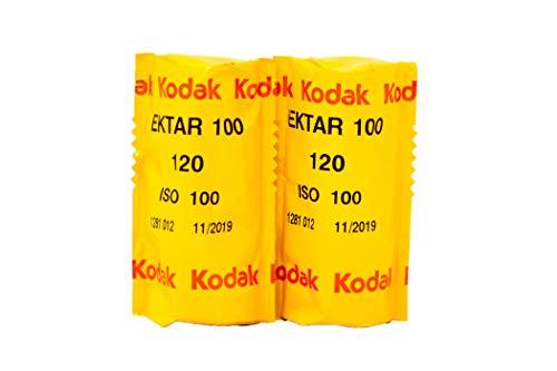 Kodak カラーネガティブフィルム プロフェッショナル用 エクター100 120 2本パック