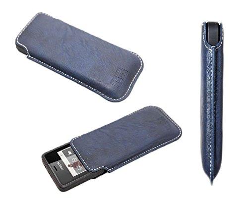 caseroxx Business-Line Etui für Nokia 515, Tasche (Business-Line Etui in blau)