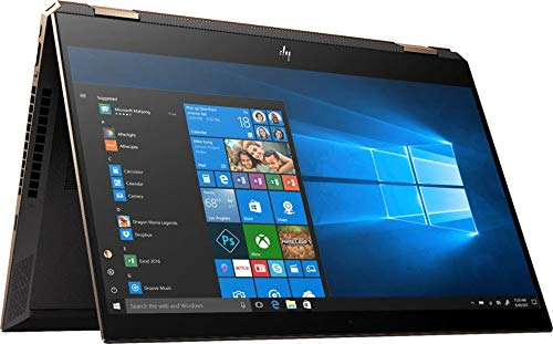 2019 Spectre x360 15t Touch Max Q GTX 1050Ti 6 core (Intel i7 8750H, 4K UHD, 16GB, 1TB SSD,2 in 1, Stylus with 3 Years McAfee Internet Security, Windows 10 PRO Upgrade, HP Warranty) Dark Ash