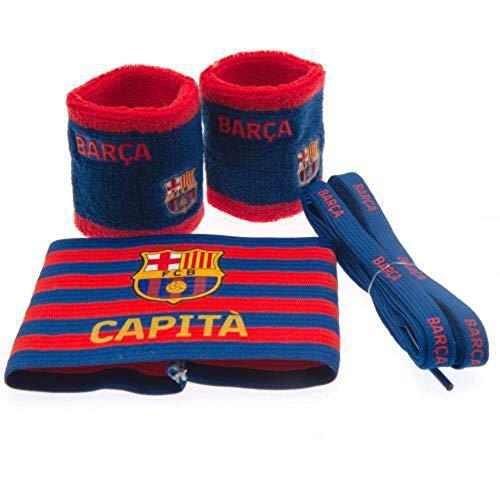 Fc Barcelona Paquete de accesorios Set de regalo Brazalete Cordones Sudaderas