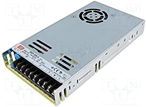 Mean Well RSP-320-5CC 300W 5 Volt Power Supply with PFC and Conformal Coating for LED Display
