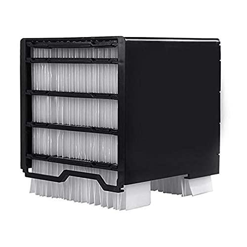 YUTEN Filtro de Repuesto para Ventilador de Aire Acondicionado, Accesorios de Filtro de Aire Acondicionado para Filtro de Ventilador de Aire Acondicionado, Elemento de Filtro 30 Papel de serviceable