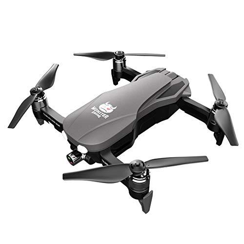 F8 Drone 4K Cardanico GPS Pieghevole Resistenza Lunga Quadcopter Aerei Telecomando Motore Brushless Macchina Fotografica Giocattolo HD,Grigio,4K