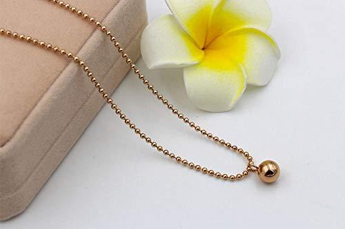 MNMXW ondata di moda di qualità dei gioielli della collana della perla delle perle rotonde della sfera rotonda delle donne
