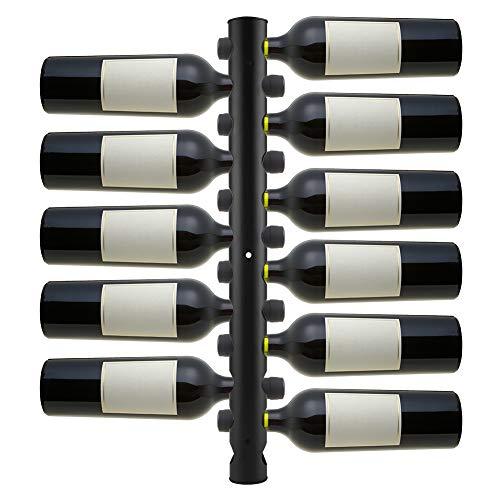 Estante De Vino Montado En La Pared Acero Inoxidable 12 Botellas Estante del Vino Soporte para Botellas Sostenedor De Botella Cocina Restaurante Casa Bar Holder Vinos Estantes Ahorra Espacio