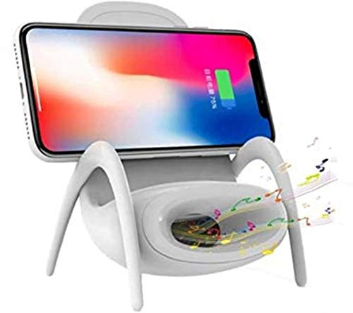 Gymqian Wireless Charger Charging Dock Station for iPhone 12, iPhone 12 Pro iPhone, 12 Pro Max, iPhone Se, iPhone 12 Mini Decorative Chair Design Dock Fast Charging