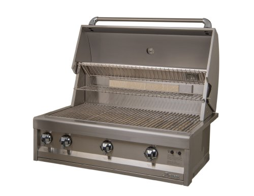 Artisan Grills ART-36 75000 BTU Built-In Natural Gas Grill/BBQ with Rotisserie and Lights, 36-Inch Gas Grills Natural