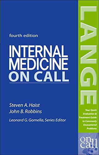 Internal Medicine On Call (LANGE On Call)