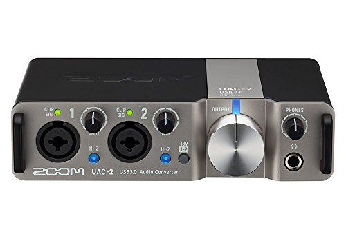 Zoom UAC-2 Two-Channel USB 3.0 SuperSpeed Audio Interface for Mac and PC
