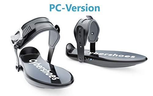 Cybershoes Zapatillas para Caminar en Juegos VR – Gaming Station Incluye Silla Cyberchair y Carpeta – Arcade de de Realidad Virtual para Juegos Activos en casa