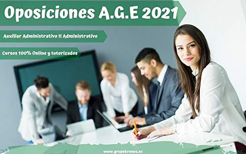 Curso 100% Online de Auxiliar Administrativo de la AGE: Oposiciones AGE 2021