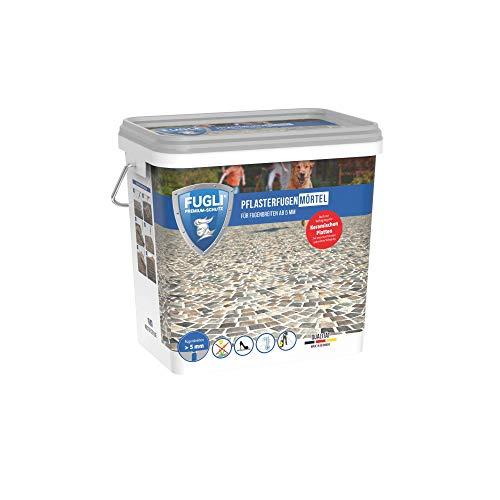 FUGLI Pflasterfugenmörtel 12,5 kg sand/steingrau