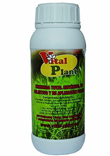 Vital Plant Herbicida Total contra Malas Hierbas 500 CC, Ninguno