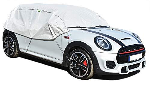 Halbgarage OPTIMO S-M für das Auto KFZ UV Frostz Schutz geeignet für Opel Corsa D 2006-2014 Abdeckung Abdeckplane