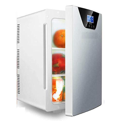 ZLM Mini Nevera, Nevera para Bebidas, con Volumen, silenciosa, compacta, para dormitorios, cosmética, Leche Materna 20 litros