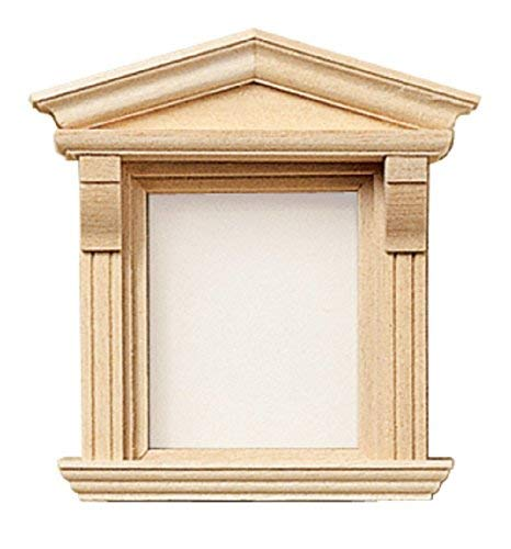 Maison De Poupées Miniature Constructeurs BRICOLAGE 1:12 échelle En bois Victorien Simple Fenêtre