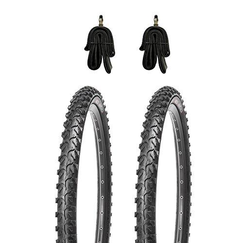 Kujo Resul MTB Reifen Set 24x1.95 inkl. Schläuche mit Dunlopventile