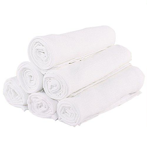 Baby Swaddle Blanket 5 Pack Muslin Receiving Blanket Muslin Sqaures 100% Muslin Cotton 3 Layer 30''x30'' by YOOFOSS (27'' x 39'')