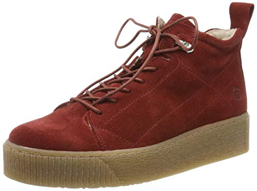 Tamaris Damen 1-1-25258-23 Sneaker, Rot (Brick 540), 38 EU