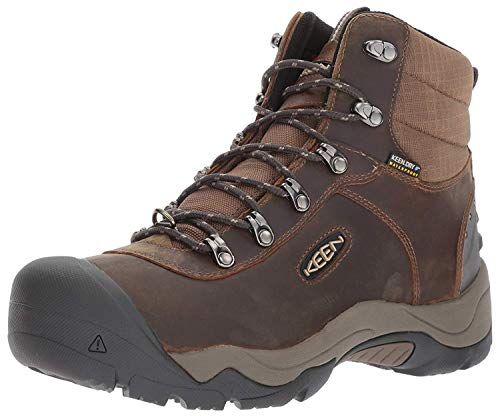 KEEN Men's Revel iii-m Hiking Boot, Great Wall/Canteen, 10 M US