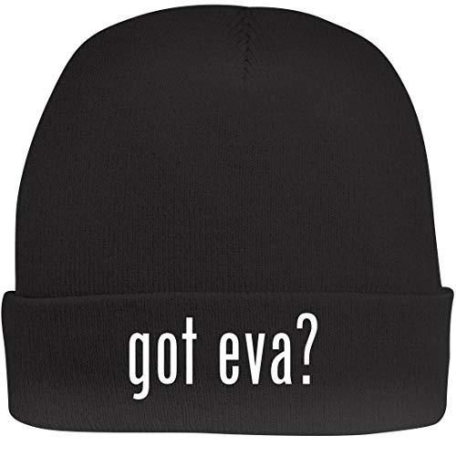 Shirt Me Up got eva? - A Nice Beanie Cap, Black, OSFA