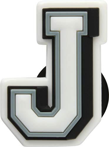 Crocs Unisex-Erwachsene Jibbitz Letter J Schuhanhänger, Mehrfarbig (Multicolour), Einheitsgröße