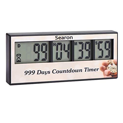 Digitaler Tageszähler, Countdown, Erinnerungsfunktion für Geburtstag, Hochzeit, nächsten Urlaub, Untersuchung, Pension, Projektfrist, Sportveranstaltung