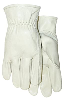 Thinsulate Lined Smooth Grain Cowhide Leather Work Glove
