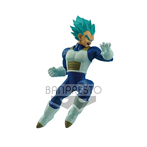 Banpresto Dragon Ball Flight Fighting Figure-Super Saiyan Blue Vegeta, 16 cm 26771
