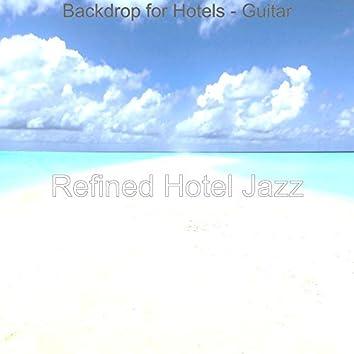Backdrop for Hotels - Guitar