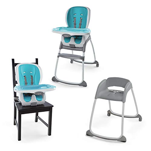 Ingenuity Trio 3-in-1 SmartClean High Chair™ - Aqua