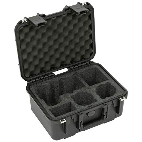 SKB Cases 3i-13096A74 iSeries 1309 Waterproof Sony A7R IV Series Case, Ultra high-strength Polypropylene Copolymer Resin, Molded-in hinge, Resistant to Corrosion and Impact Damage