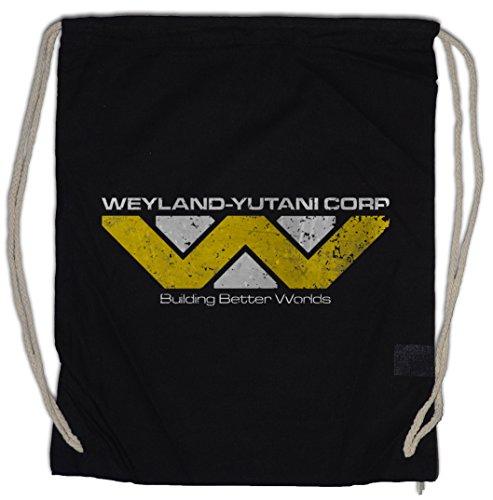 Urban Backwoods Weyland Yutani Corp Bolsa de Cuerdas con Cordón Gimnasio Prometheus...