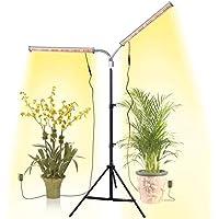 Aceple Two Heads Gooseneck 60W Floor Plant Grow Lamp