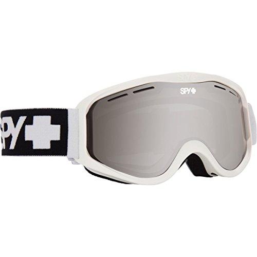 Masque Homme Spy Cadet Blanc Mat, Spy, Blanc mat/miroir argenté., taille unique