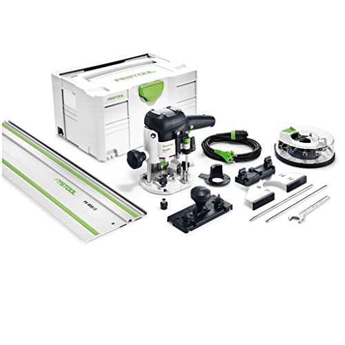 FESTOOL Oberfräse OF 1010 EBQ-Set + Box-OF-S 8/10x HW im neuen Systainer T-LOC