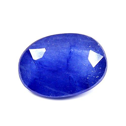 55ct Blau Saphir Stein 3,5Karat Original natur oval Lose Edelstein