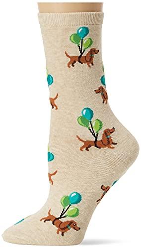 Hot Sox Damen Hsw10156-c, Natml, 090110 Socke, Ballondackel (Natural Melange), Einheitsgröße