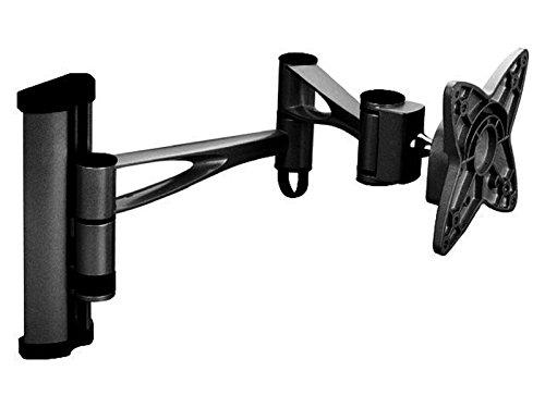 """Black Full-Motion Tilt/Swivel/Rotation Wall Mount Bracket for BenQ GW2765HT 27"""" inch LED Monitor - Articulating/Tilting/Swiveling"""