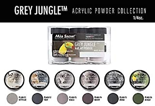 grey acrylic powder