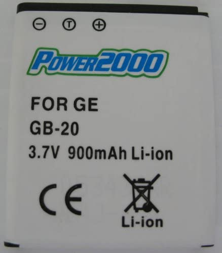 Power 2000 GB-20 Replacement 3. Lithium-Ion Rechargeable Regular store Battery Clearance SALE Limited time