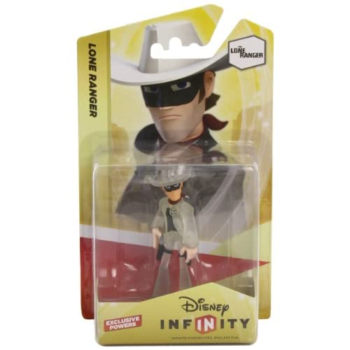 Nintendo - Figurina Disney Infinity Lone Ranger Crystal - [Edizione: Spagna]