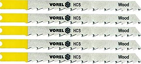 VOREL 27833 - sierra de calar Hojas de B & D/laminados / 5pcs