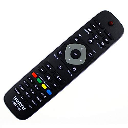 Mando a Distancia Compatible con Philips 24PFL2908H/12, 26PFL2908H/12, 32PFL3008H/12, Control Remoto, Control Remoto