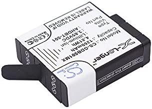 C & S 1250mAh AHDBT-501 High Capacity Battery for GoPro Hero 5 ASST1 CHDHX-501