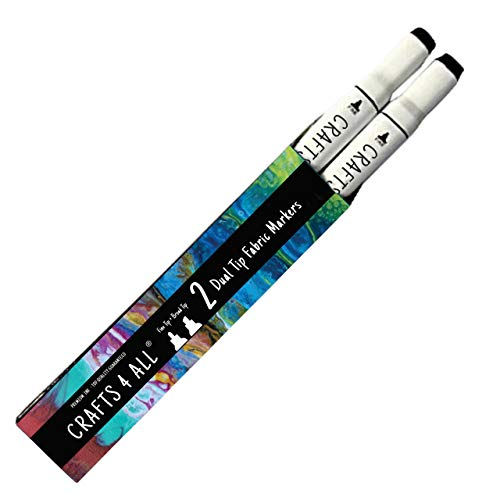 Crafts 4 ALL Permanent Fabric Marker Laundry Marker