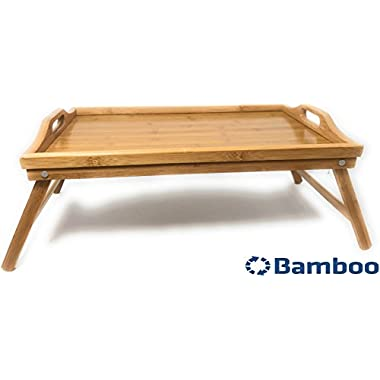 TV Tray Serving Breakfast in Bed Tray Bamboo Lap Trays Snacks or Laptop Tray