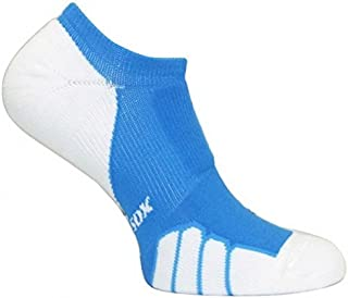 Vitalsox Italy, Silver Drystat Tennis No Show Socks Fitted Pairs