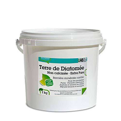 Bio control Terra di diatomee Alimentare Non calcinée Grigia–2kg AG-terdia2